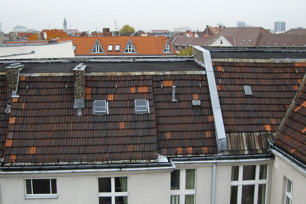 Dachgeschossausbau vorher