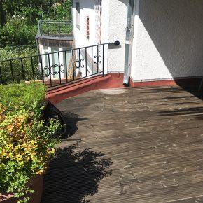 Terrasse undicht – Anschlüsse sind nicht fachgerecht hergestellt